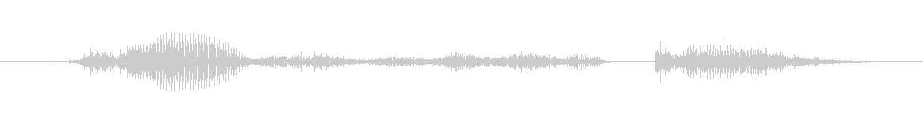 Then immediately (female)'s unreproduced waveform