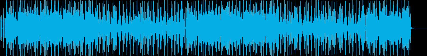 【掛声なし】和楽器おしゃれヒップホップの再生済みの波形