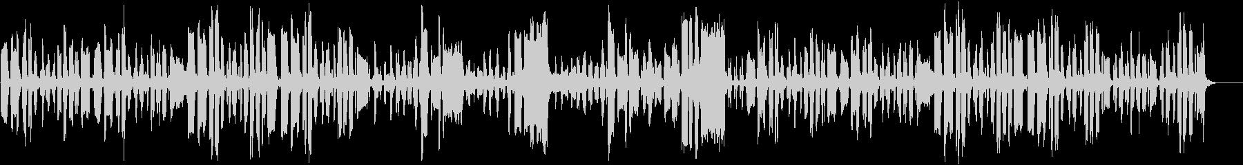 リコーダーの日常のんびり曲の未再生の波形