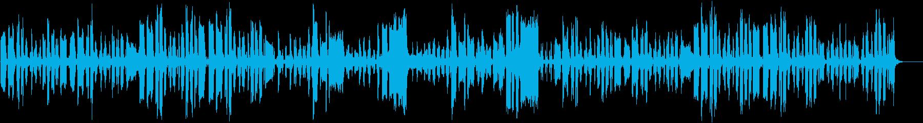 リコーダーの日常のんびり曲の再生済みの波形
