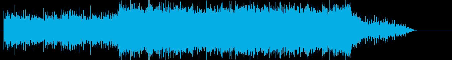 爽やかシネマロック/トレーラーの再生済みの波形