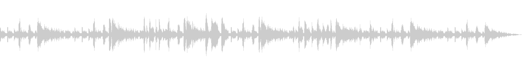 ジングル・トランペット主のJazz系の未再生の波形