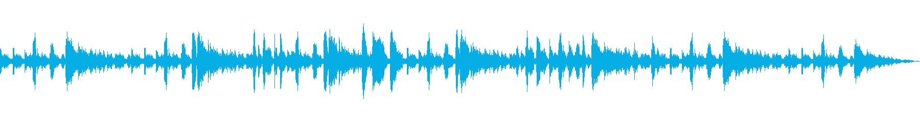 ジングル・トランペット主のJazz系の再生済みの波形