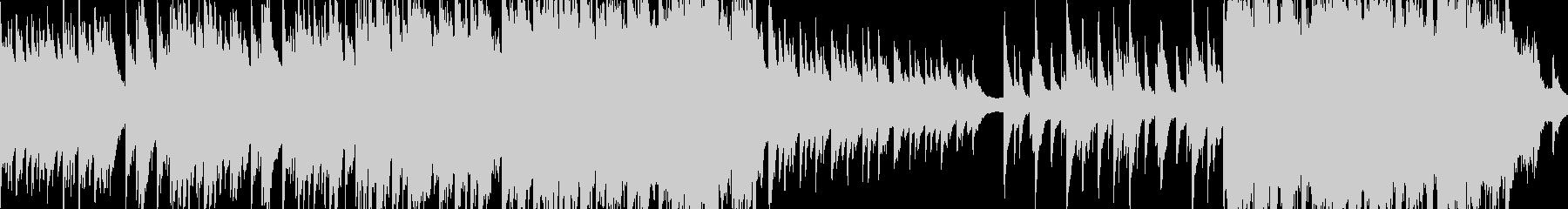 綺麗なピアノとストリングス ループ版の未再生の波形