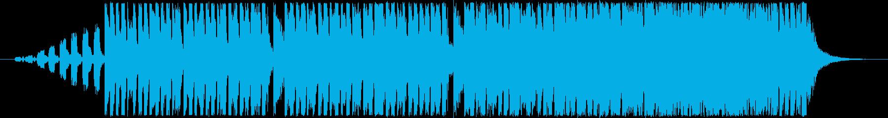 着信アプリ採用曲。コミカルなフレーズの曲の再生済みの波形