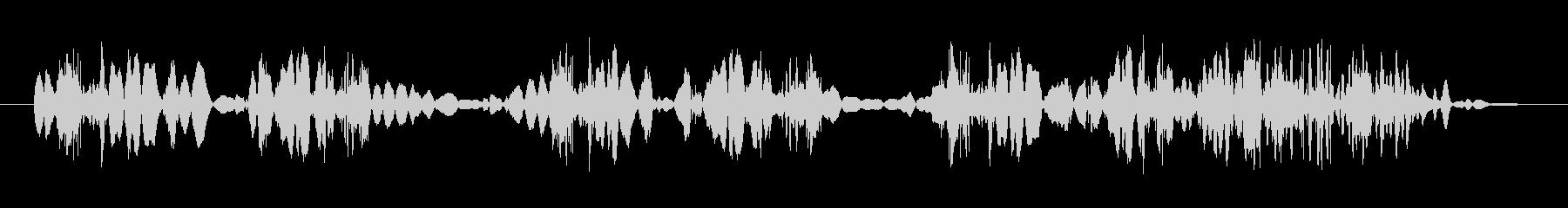 クイックテープスクラブ1の未再生の波形