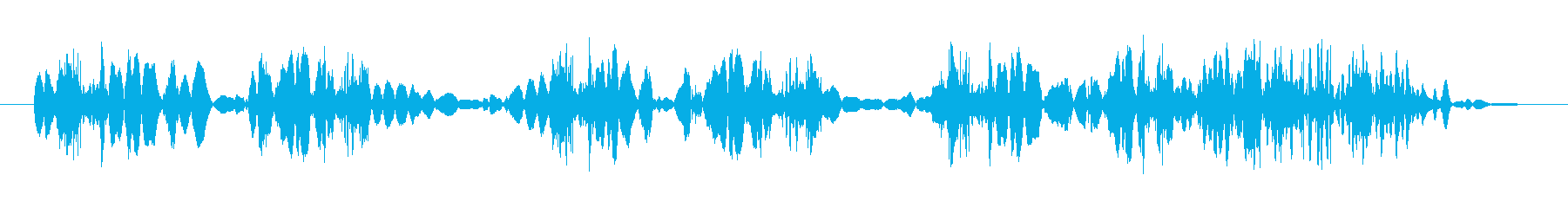 クイックテープスクラブ1の再生済みの波形