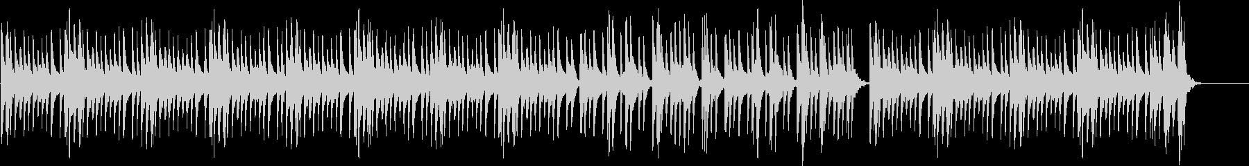 マリンバによるほのぼの日常系BGMの未再生の波形