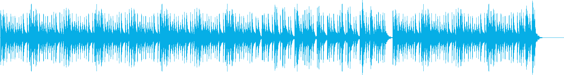 マリンバによるほのぼの日常系BGMの再生済みの波形