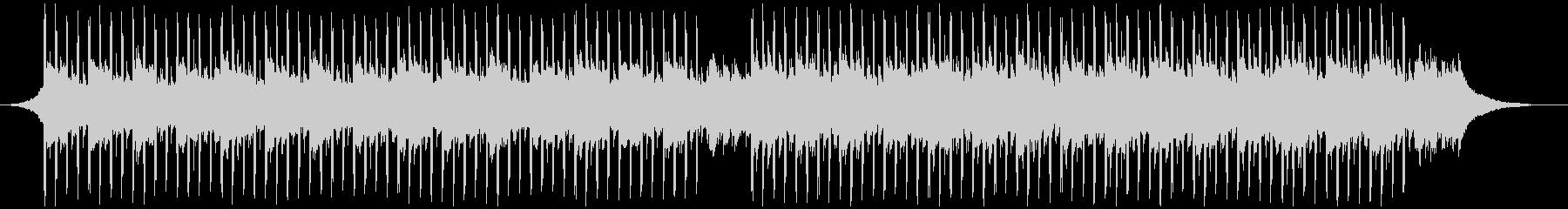 チュートリアルミュージック(中)の未再生の波形