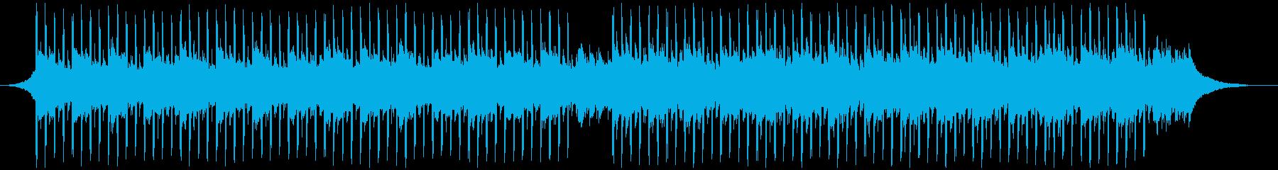 チュートリアルミュージック(中)の再生済みの波形