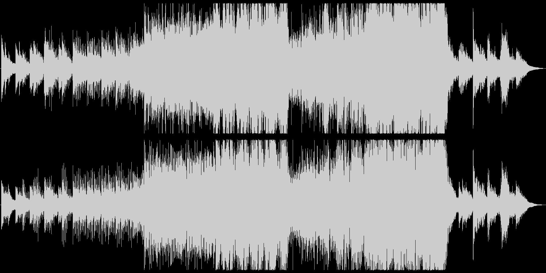 現代的 交響曲 エレクトロ 緊張感...の未再生の波形