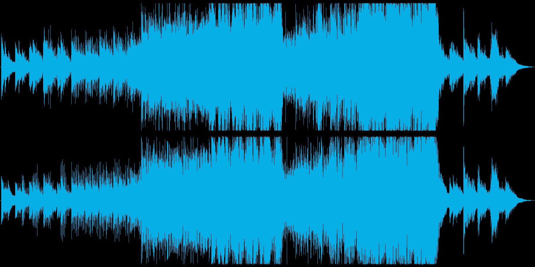 現代的 交響曲 エレクトロ 緊張感...の再生済みの波形