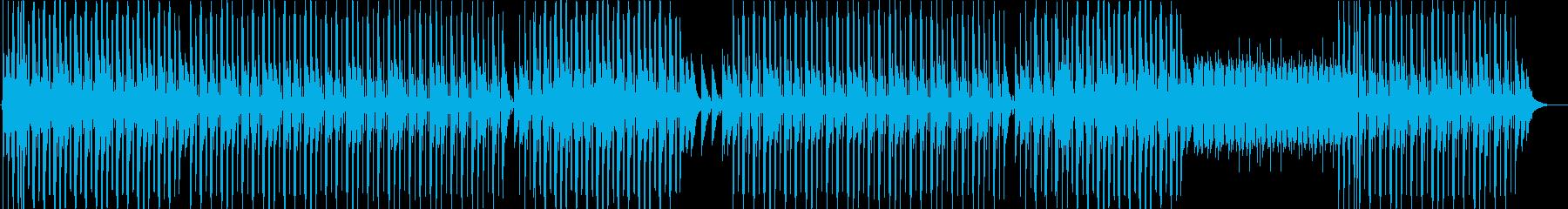 洋楽、トラップソウル、R&Bチルアウト♪の再生済みの波形