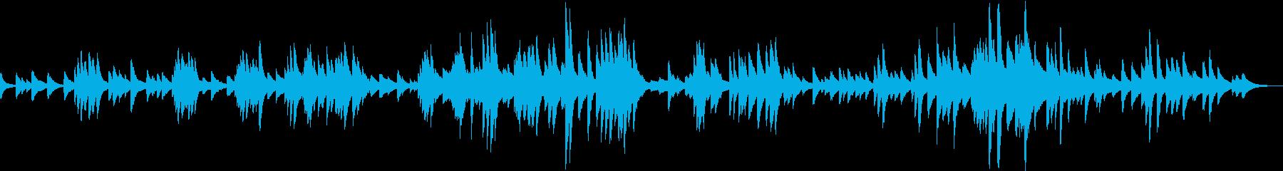 G線上のアリア ジャズ風アレンジ ピアノの再生済みの波形