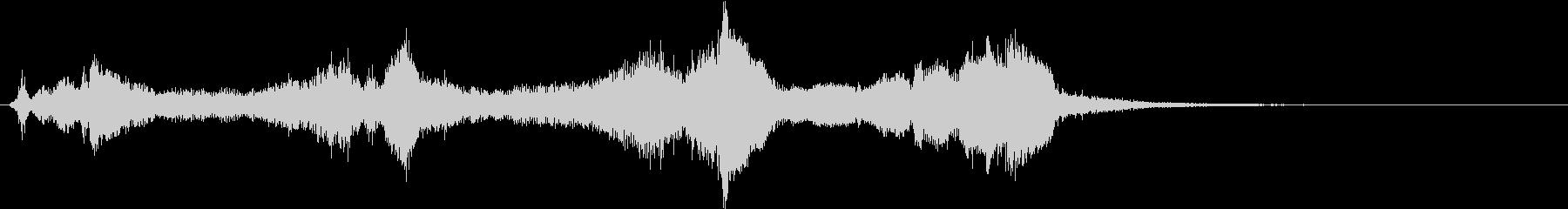 トムとジェリー風なアニメ音楽「驚き」1の未再生の波形