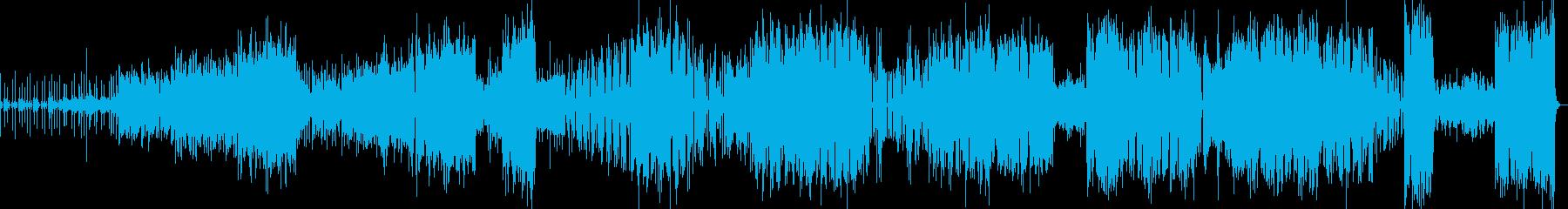 アイリッシュ風な曲(3曲メドレー)の再生済みの波形