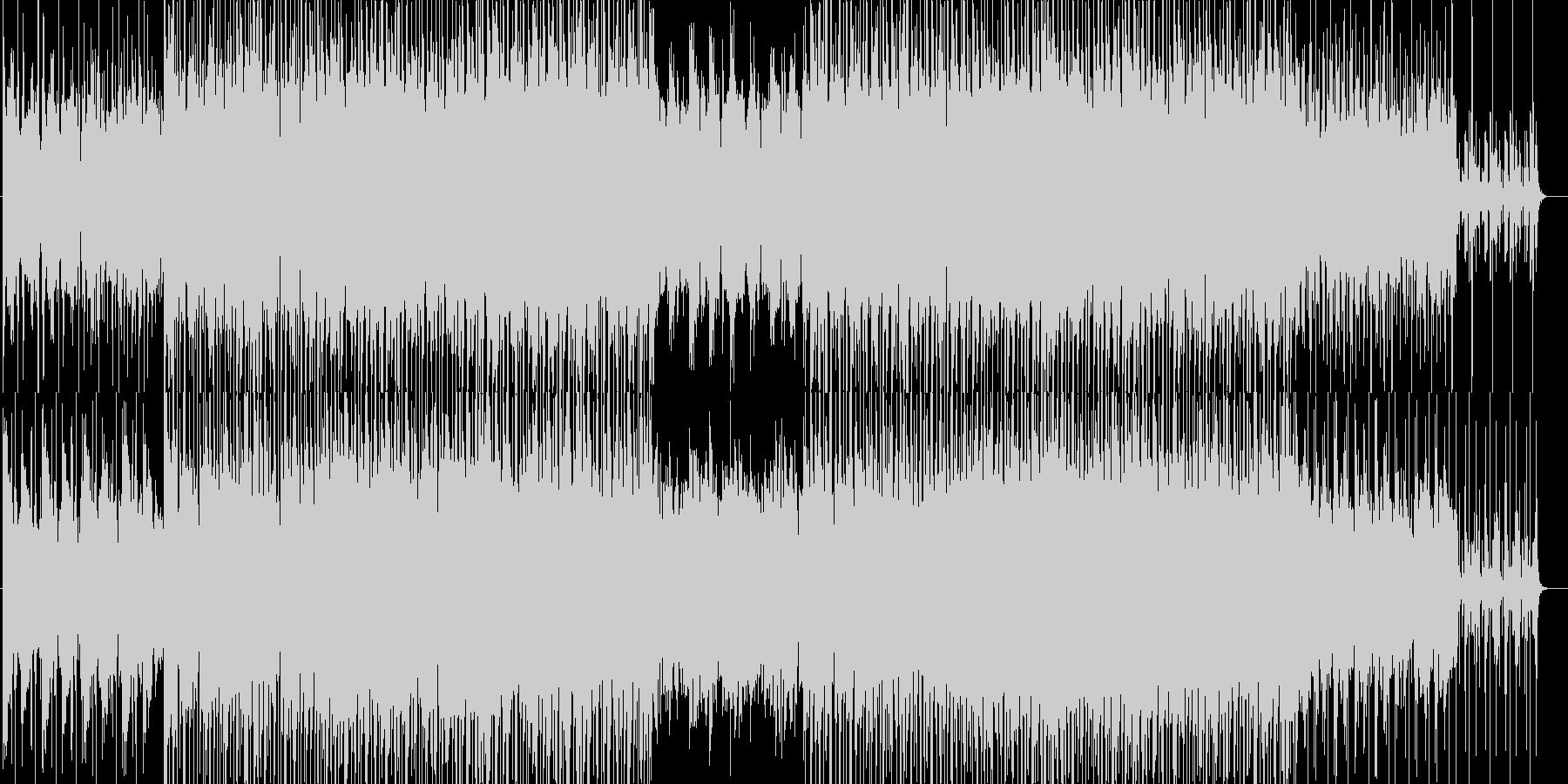 ラグジュアリーで落ち着いた雰囲気のBGMの未再生の波形