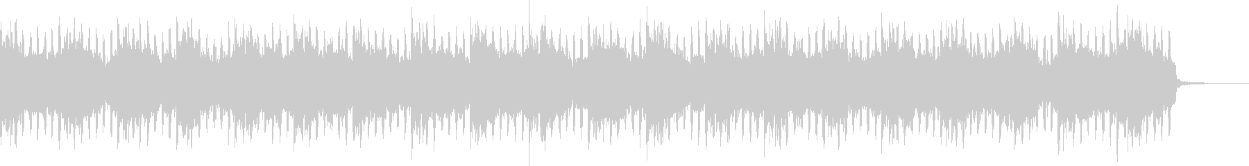 ニュース原稿シンプルトランス汎用BGMの未再生の波形