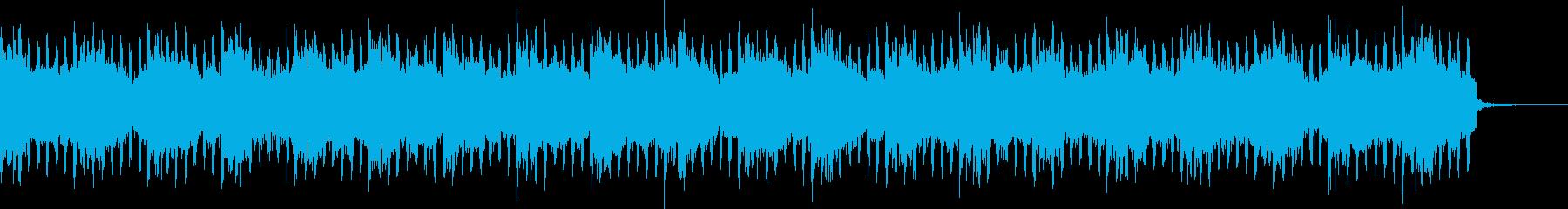 ニュース原稿シンプルトランス汎用BGMの再生済みの波形