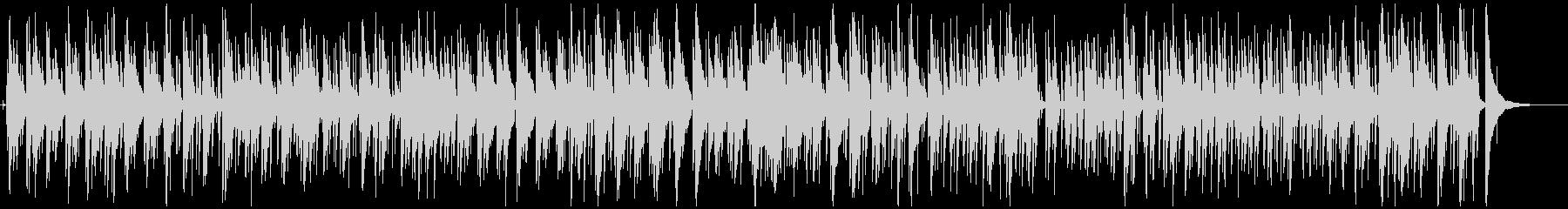 カフェ-ディナーくつろぎのジャズの未再生の波形