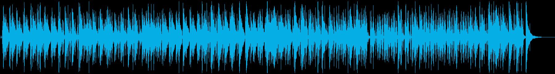 カフェ-ディナーくつろぎのジャズの再生済みの波形