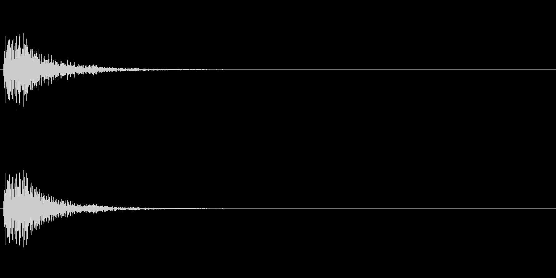 【光る01-2】の未再生の波形