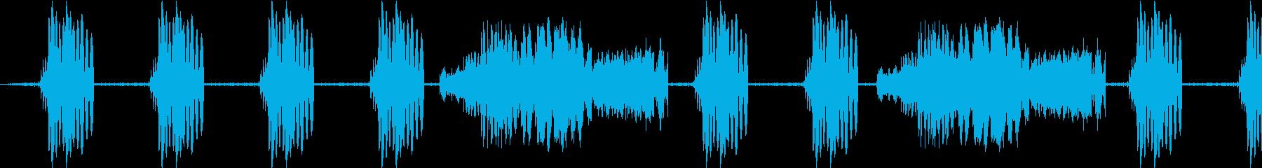 RAPID RAP GROOVEの再生済みの波形