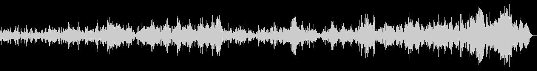 中低域が暖かい音質のフュージョン曲の未再生の波形
