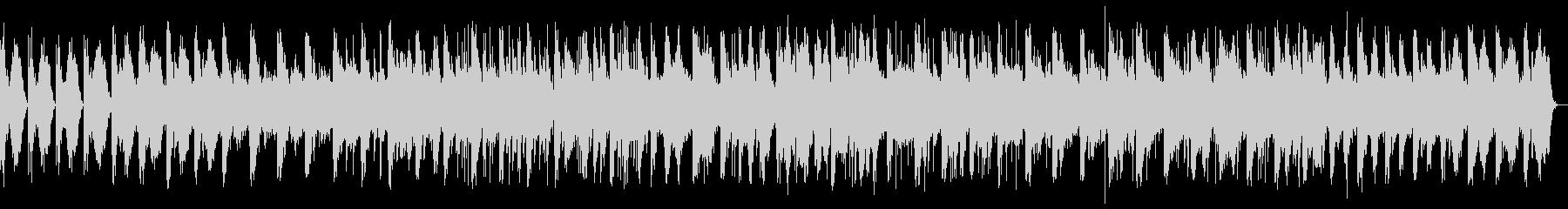 ピアノと波の音のヒーリング(効果音なし)の未再生の波形