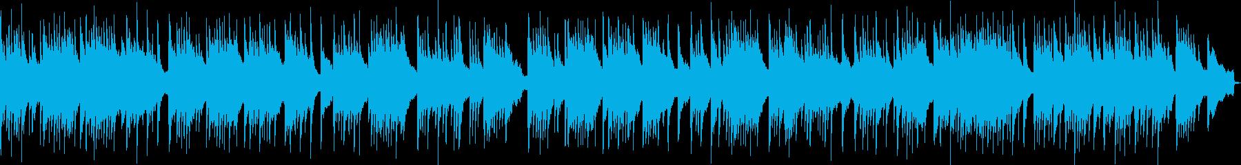 夜明け前をピアノで描写の再生済みの波形