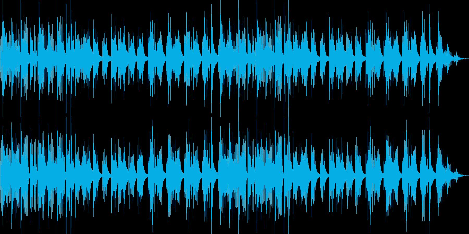 穏やかでやや切ないピアノナンバーの再生済みの波形