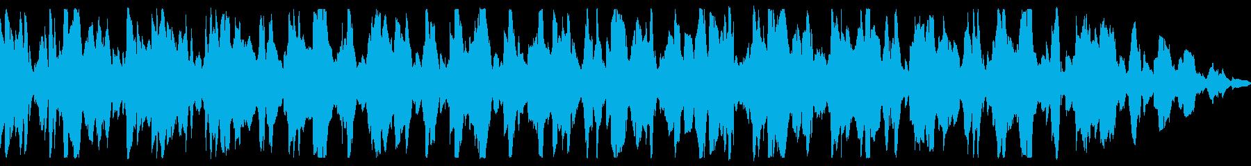 エレピのしっかり聴こえる着信音の再生済みの波形