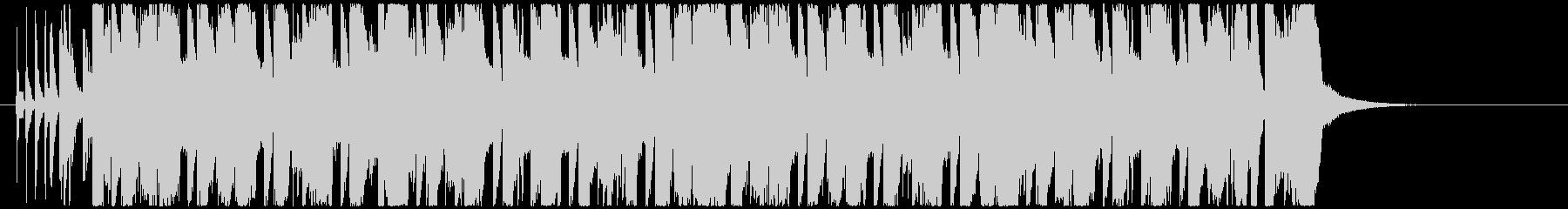 ノリノリな8BitエレクトロハウスEDMの未再生の波形