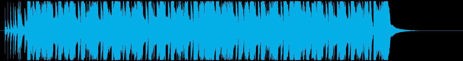 ノリノリな8BitエレクトロハウスEDMの再生済みの波形