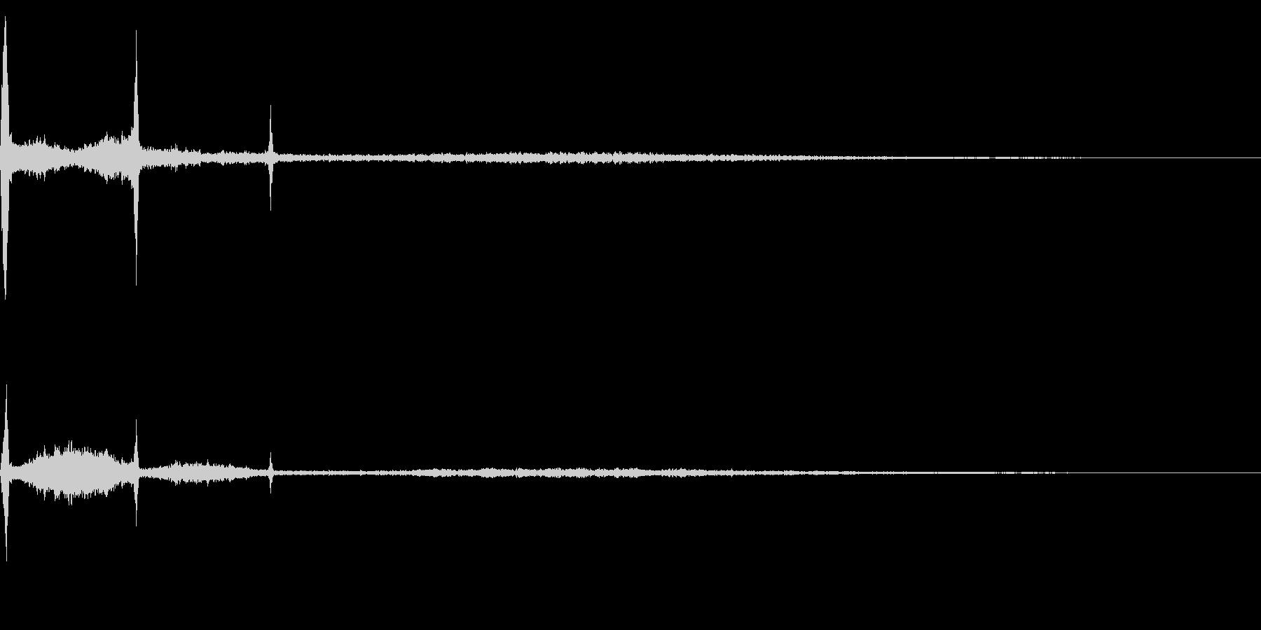 ホラー系アタック音21の未再生の波形