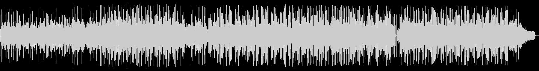 アコースティックギターのフュージョンの未再生の波形