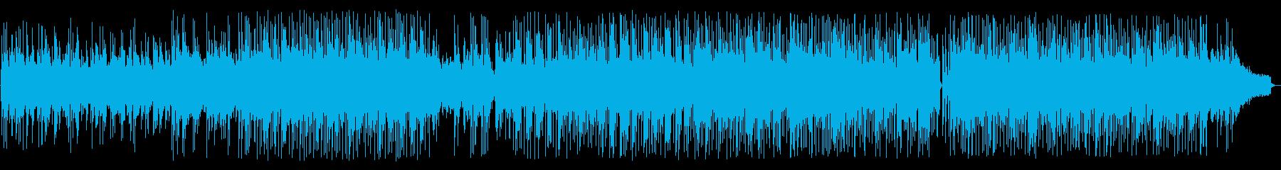 アコースティックギターのフュージョンの再生済みの波形