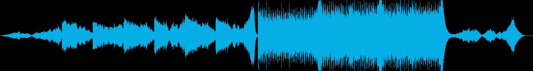 映画のエンディングのような壮大な楽曲ですの再生済みの波形