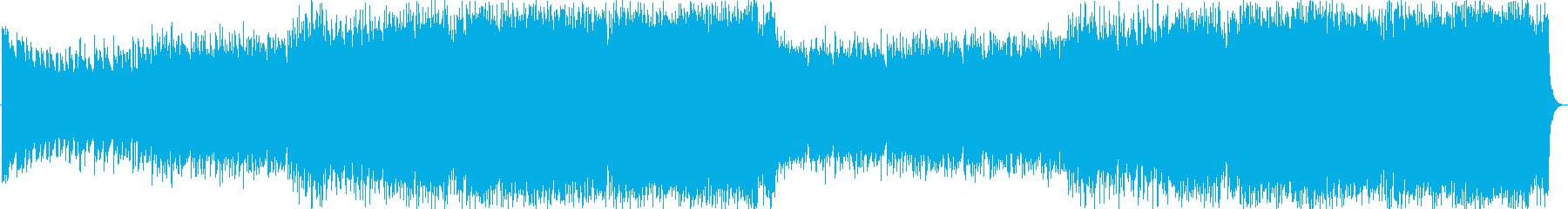 ポップで爽やかなEDM/ハウスの再生済みの波形