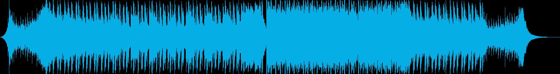 賑やかで楽しいノスタルジックジングルベルの再生済みの波形