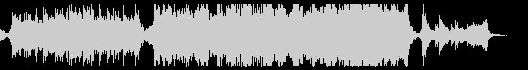 ハリウッド映画風の壮大オーケストラ12Bの未再生の波形