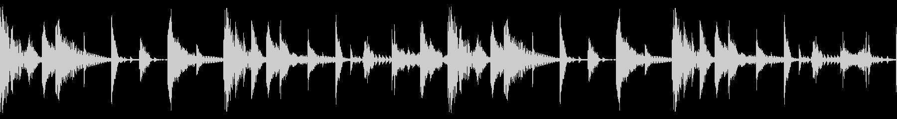60 BPMの未再生の波形