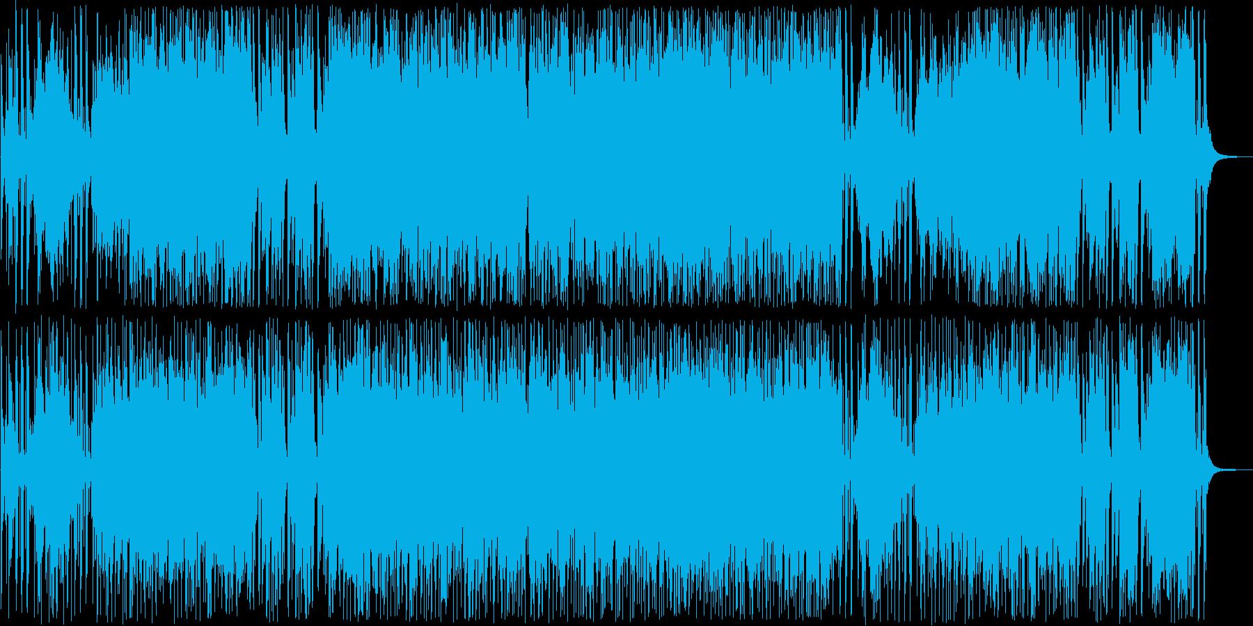 スタイリッシュなミディアムポップスの再生済みの波形