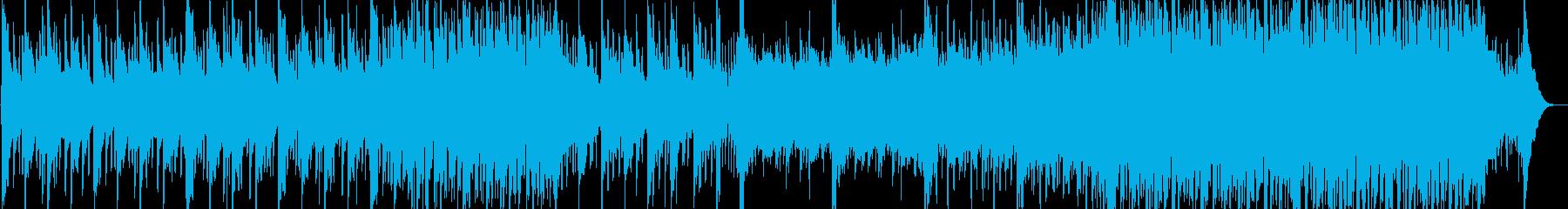 和む、でも少しクールなBGMの再生済みの波形