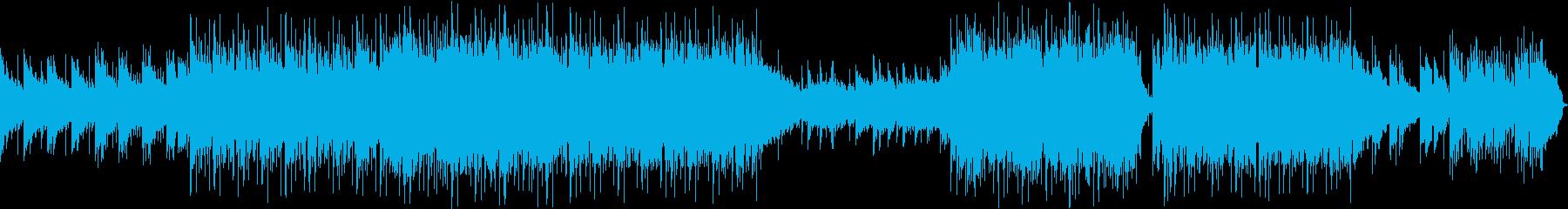 エレクトロ 技術的な 感情的 説明...の再生済みの波形