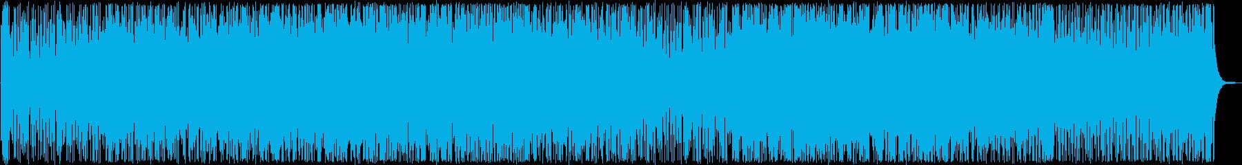明るく、疾走感あふれるポップミュージックの再生済みの波形