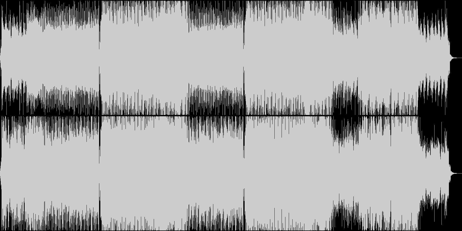 都会的なオシャレハウスミュージックの未再生の波形