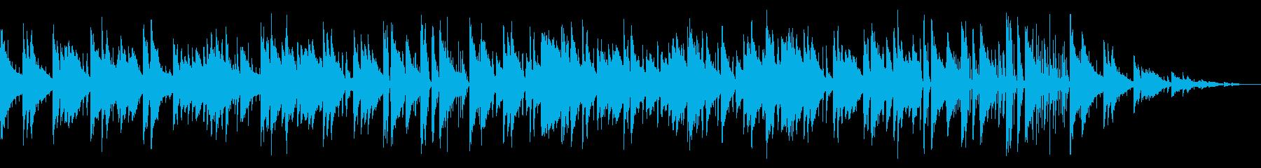 リラックスできるジャズピアノトリオの再生済みの波形