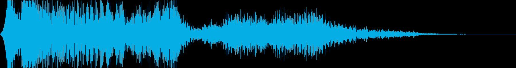 【映画】 トレーラーヒット_02 衝撃の再生済みの波形